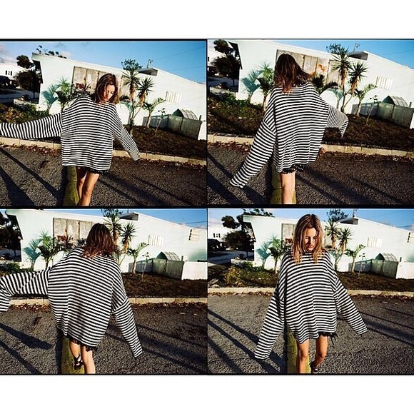 c2207f77a8d All Saints Sweaters - AllSAINTS Casso Striped sweater size xs